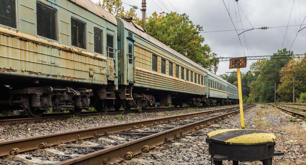 Ukraiński pociąg