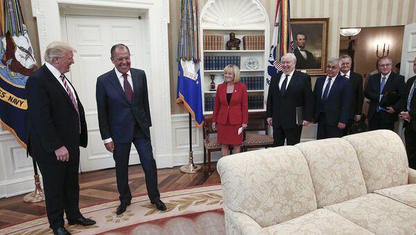 Spotkanie Ławrowa i Trumpa w Waszyngtonie - Sputnik Polska