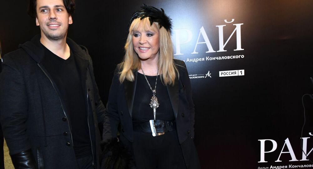 Ałła Pugaczowa i Maksim Gałkin