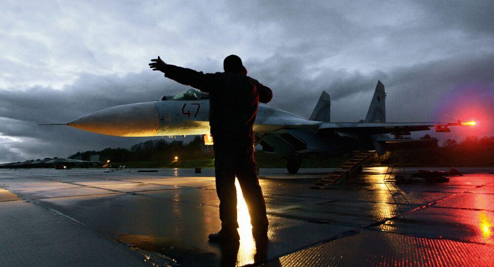 Rosyjski myśliwiec Su -27