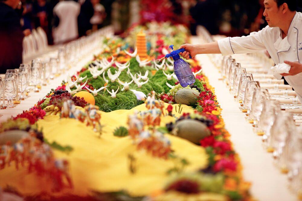 Sztuka Gościnności: Chiny przywitały światowych liderów podczas uroczystej kolacji Jeden pas, jedna droga