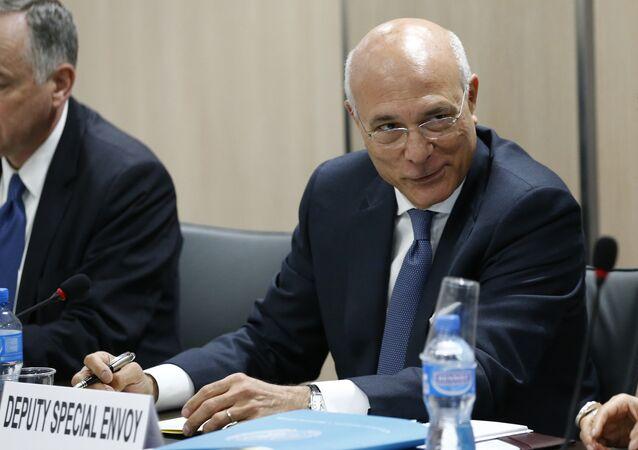 Zastępca specjalnego wysłannika ONZ ds. Syrii Ezzeldin Ramzy