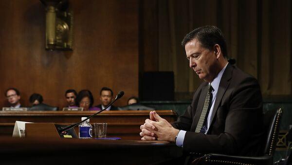 Dyrektor FBI James Comey, 3 maja 2017 roku - Sputnik Polska