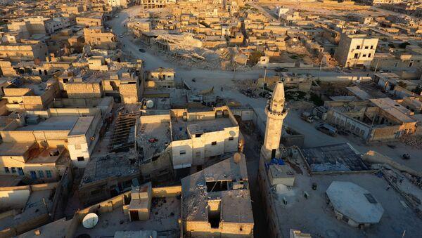 Panorama na syryjski Al-Bab - Sputnik Polska