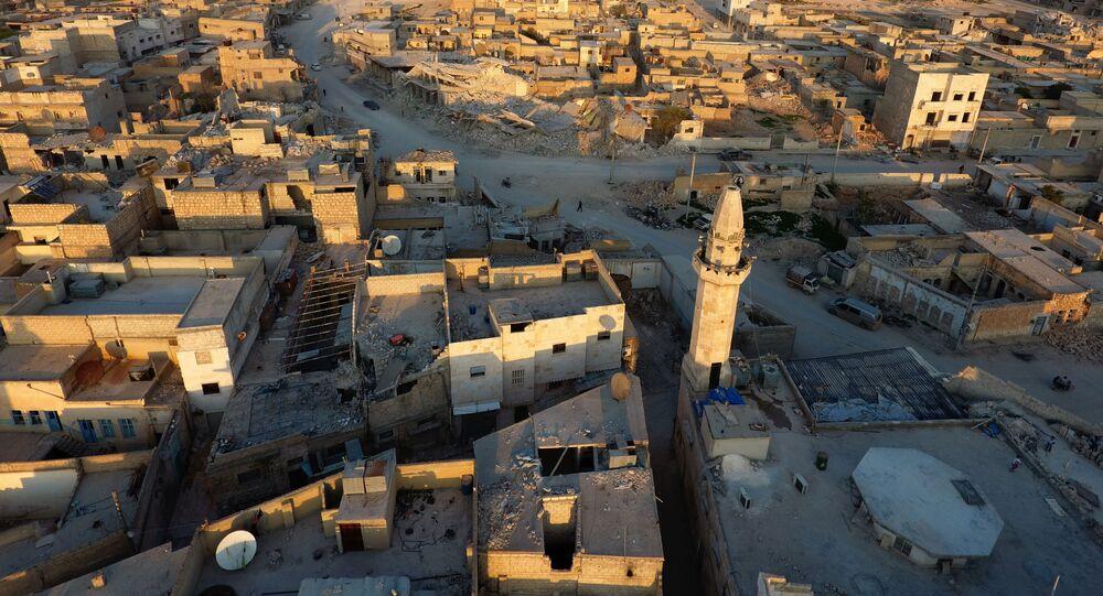 Panorama na syryjski Al-Bab