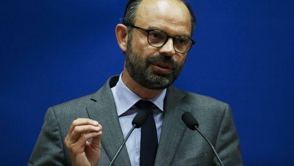 Premier Francji Edouard Philippe - Sputnik Polska