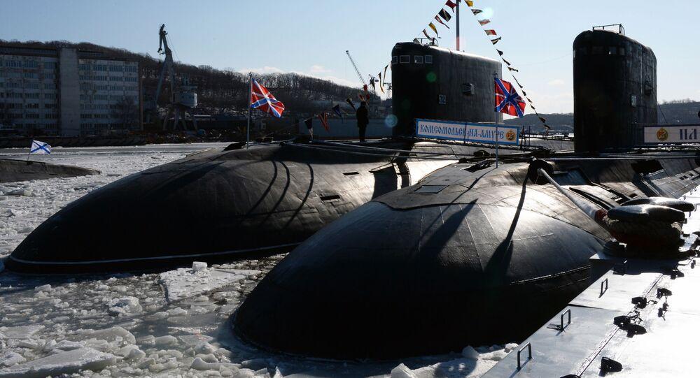 "Spalinowy okręt podwodny ""Komsomolsk nad Amurem"" projektu 877 ""Pałtus"""