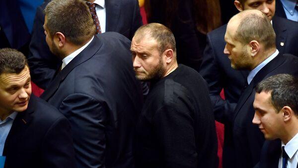 Lider ekstremistycznej organizacji Prawy sektor Dmitrij Jarosz - Sputnik Polska