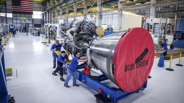 Silnik BE-4 Blue Origin - Sputnik Polska
