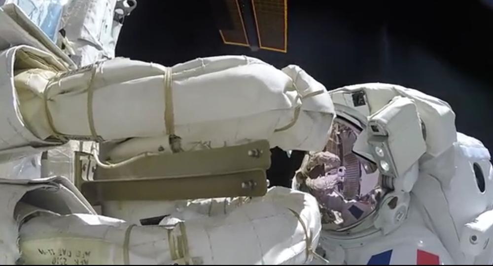 Astronauta nagrał niesamowity film z kosmosu