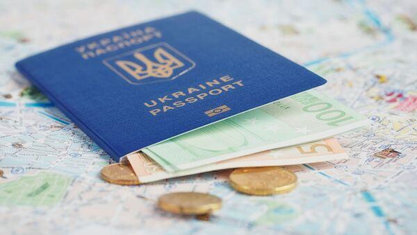 Ukraiński paszport - Sputnik Polska