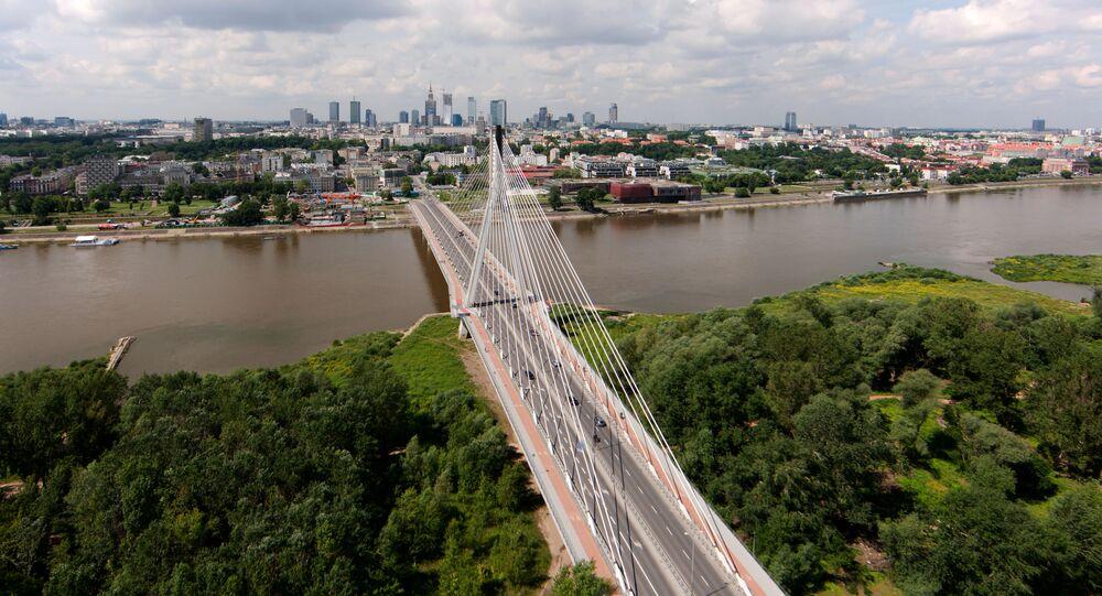 Widok na Most Świętokrzyski