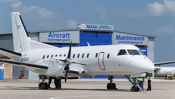 Samolot ukraińskiej linii lotniczej Urga - Sputnik Polska