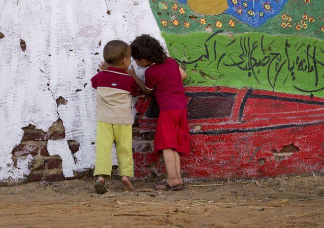 Dzieci w Egipcie