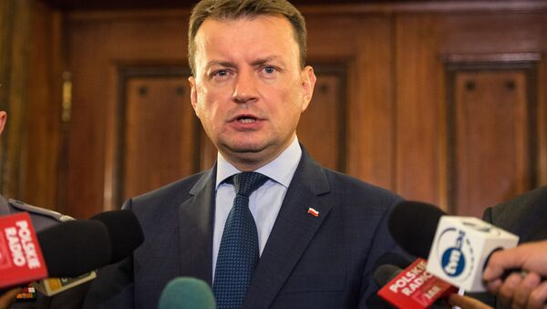 Mariusz Błaszczak - Sputnik Polska