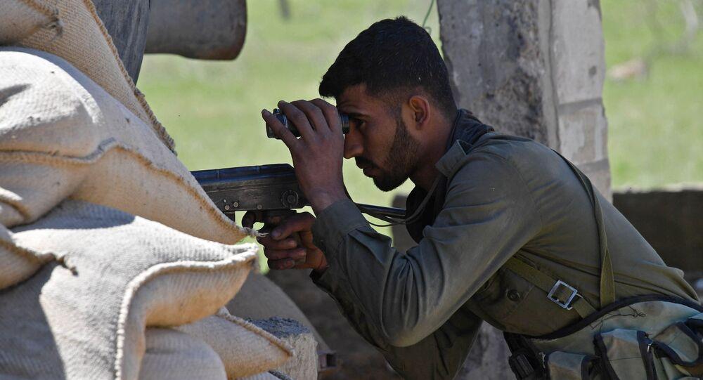 żołnierz armii syryskiej