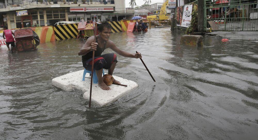 Tajfun w Manile, Filipiny
