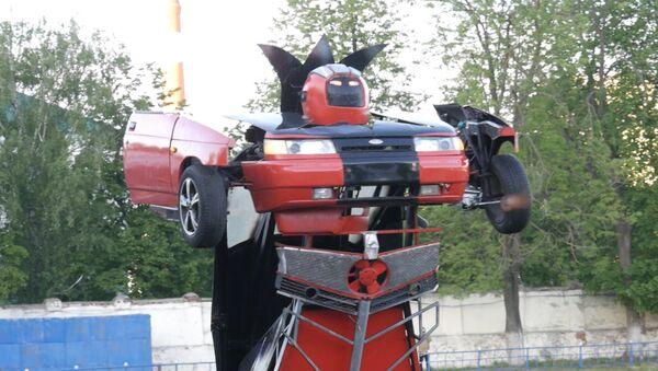 Rosyjski Optimus Prime - Sputnik Polska