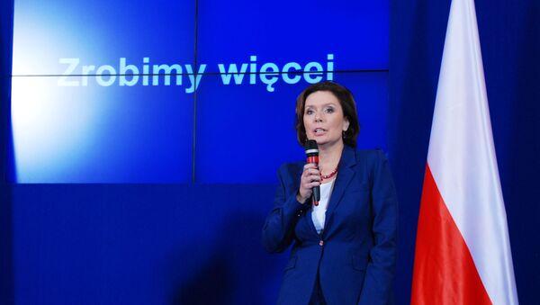 Rzeczniczka Rządu RP Małgorzata Kidawa-Błońska - Sputnik Polska