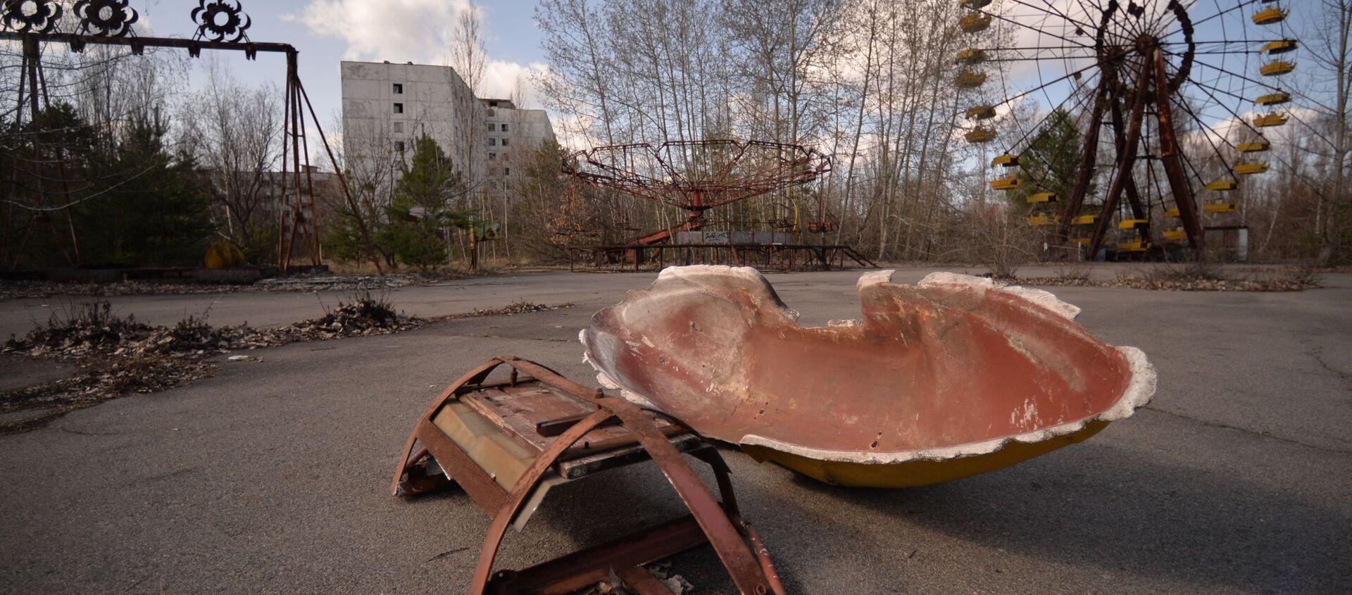 Strefa Wykluczenia wokół Czarnobylskiej Elektrowni Jądrowej - Sputnik Polska, 1920, 16.04.2021