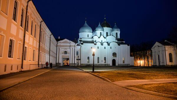 Sobór Mądrości Bożej w Nowogrodzie Wielkim. - Sputnik Polska
