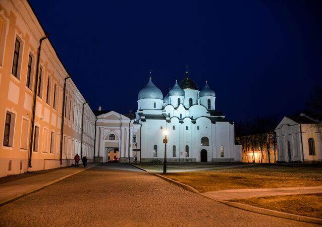 Sobór Mądrości Bożej w Nowogrodzie Wielkim.
