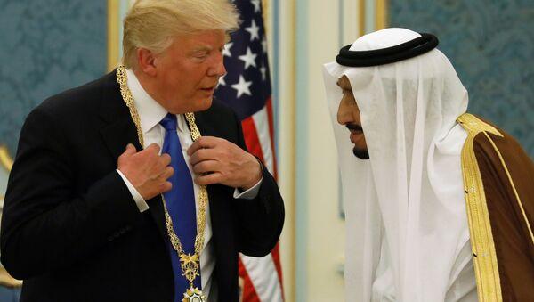 Wizyta Donalda Trumpa w Arabii Saudyjskiej - Sputnik Polska