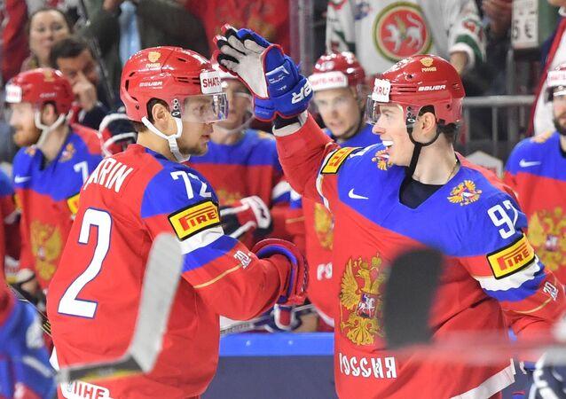 Reprezentacja Rosji podczas Mistrzostw Świata w hokeju 2017