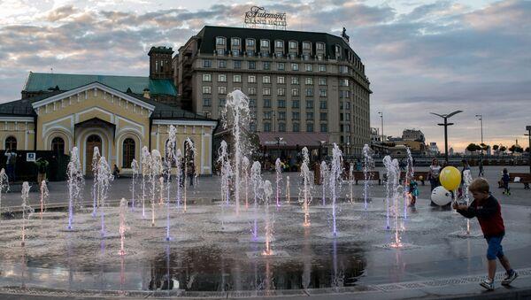 Plac Pocztowy w Kijowie - Sputnik Polska