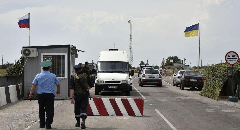 Przejście graniczne Dżankoj na granicy rosyjsko-ukraińskiej