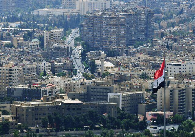 Widok na Damaszek