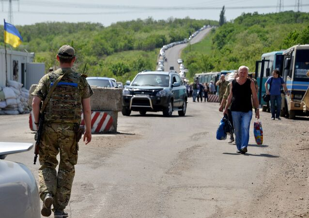 Ukraińskie przejście graniczne