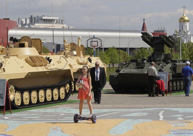 VIII Międzynarodowa Wystawa Broni i Sprzętu Wojskowego Milex-2017 w Mińsku