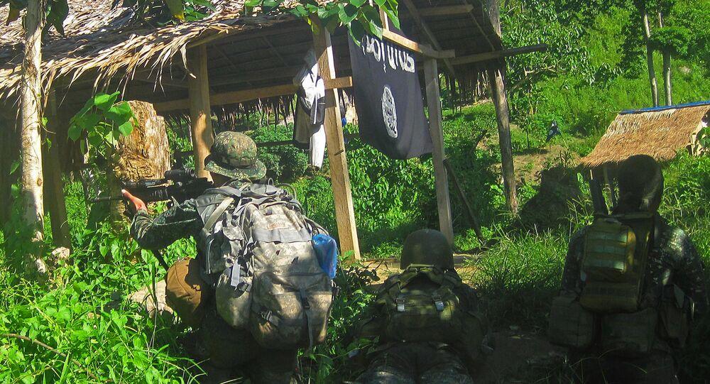 Operacja specjalna w bazie PI na Filipinach