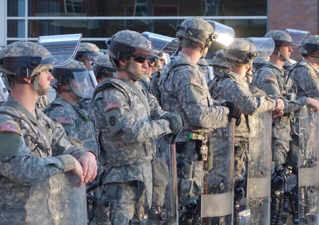 Żołnierze Gwardii Narodowej USA