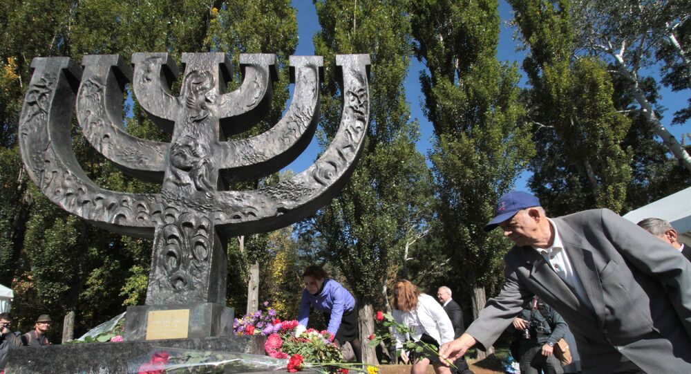 Pomnik Menory w Babim Jarze