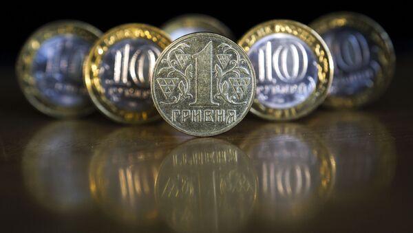 Monety Rosji i Ukrainy - Sputnik Polska