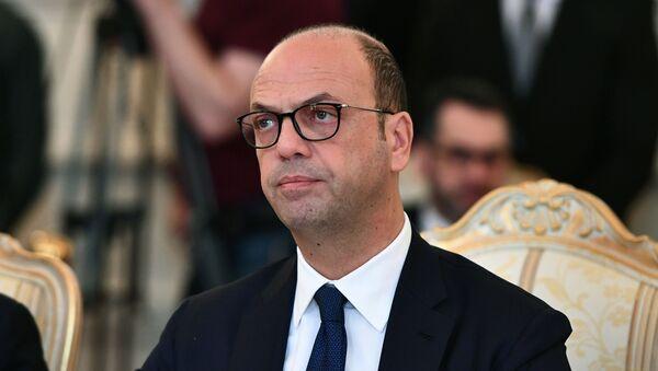 Minister spraw zagranicznych Włoch Angelino Alfano - Sputnik Polska