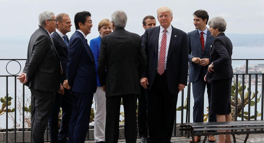 Przywódcy G7 przyjęli 39 punktów deklaracji, którą zamknęli spotkanie w Taorminie na Sycylii
