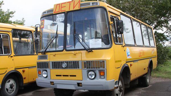 Szkolne autobusy do przewozu dzieci - Sputnik Polska