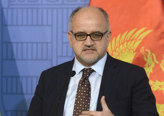 Szef MSZ Czarnogóry Srdjan Darmanovic