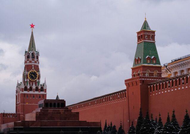 Baszta Spasska i Senacka Kremla