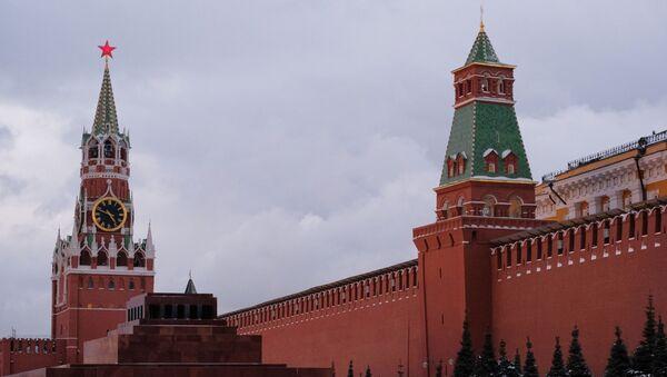 Baszta Spasska i Senacka Kremla - Sputnik Polska