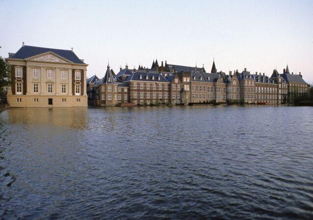 Siedziba holenderskiego parlamentu