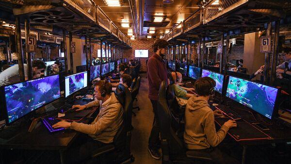 Otwarcie areny cybersportowej Yota Arena w Moskwie - Sputnik Polska