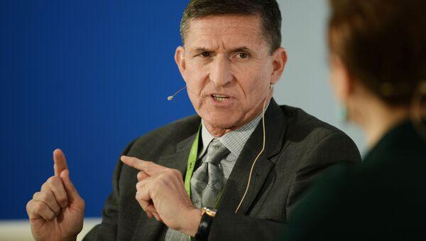Były szef Agencji Wywiadowczej Departamentu Obrony Michael Flynn - Sputnik Polska