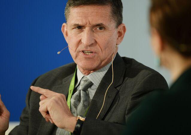 Były szef Agencji Wywiadowczej Departamentu Obrony Michael Flynn