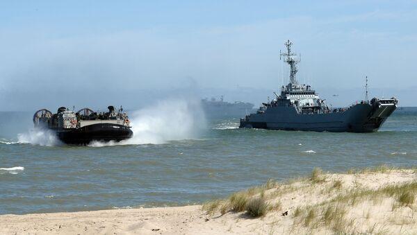 Wojskowo-morskie ćwiczenia Sojuszu Północnoatlantyckiego Baltops na Morzu Bałtyckim - Sputnik Polska