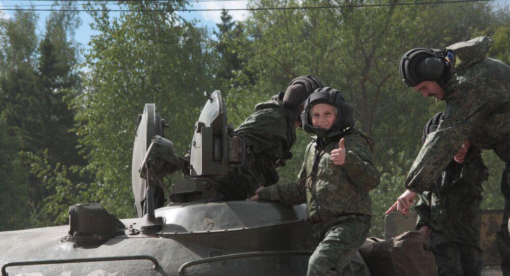 Przejażdżka czołgiem w Alabinie