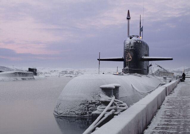 Okręt podwodny o napędzie atomowym Kursk Floty Północnej Marynarki Wojennej Rosji